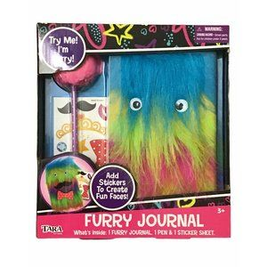 Tara Toys Furry Journal w 1 pen & 1 Sticker Sheet